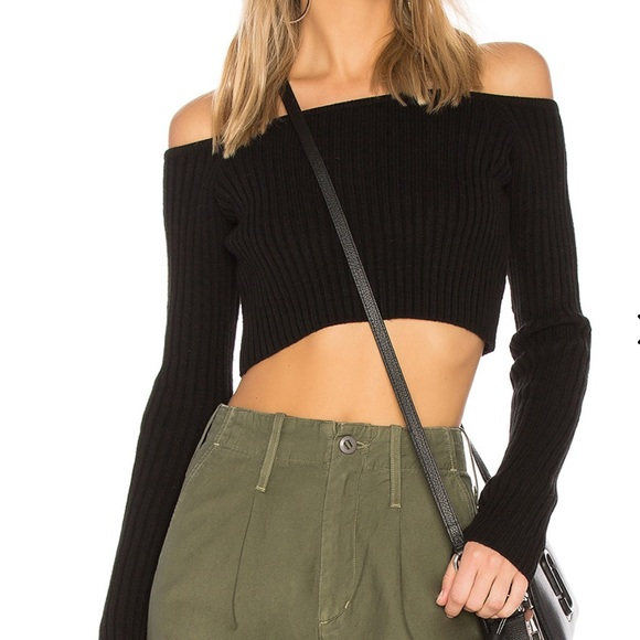 Lovers + Friends Sweaters - Lovers and Friends Bells Crop Sweater